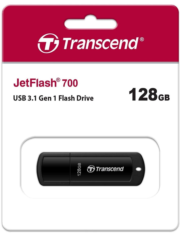 Transcend 128GB JetFlash 700 USB 3.1 Gen 1 USB Stick TS128GJF700