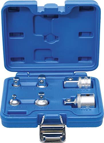 """Stecknuss Adapter Set BGS 199 alle Adapter zwischen 1/4"""", 3/8"""", 1/2"""" und 3/4"""" für PRIME Kunden"""