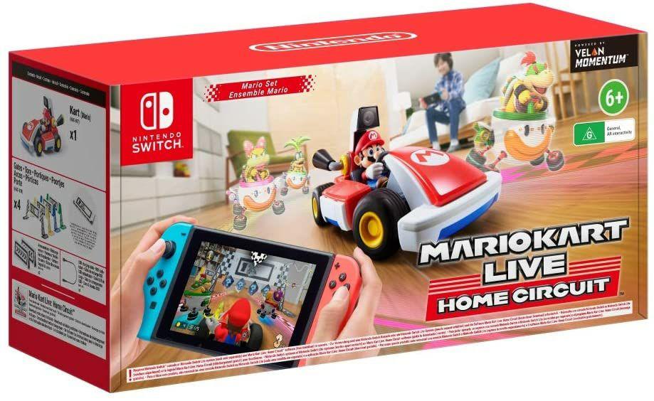Mario Kart Live: Home Circuit - Mario Set (Switch) für 69.95€ (Amazon UK)