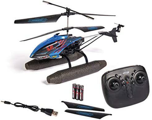 Carson Easy Tyrann 290 Waterbeast – RC Outdoor Helikopter, RTF, wasserfest, schwimmf. Wasserkufen, ab 12 Jahren [Amazon]