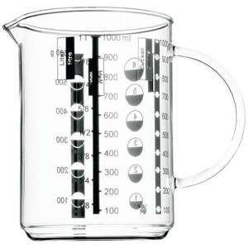 WMF Gourmet Glas Messbecher 1,0l Amazon Prime