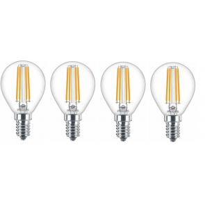 Verschiedene Philips Leuchtmittel wieder für 9,99€ inkl. Versand, z.b: 4er Pack Philips E27 LED für 9,99€