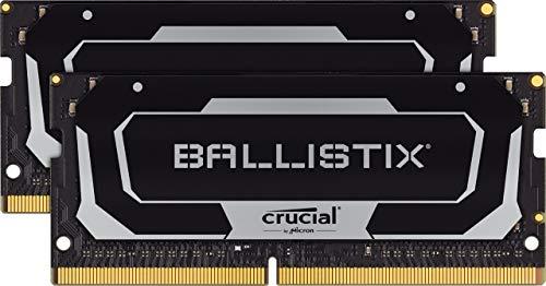 Crucial Ballistix BL2K32G32C16S4B 3200 MHz, DDR4, DRAM, Gaming Kit Speicher für Laptop, 64GB (32GB x2), CL16