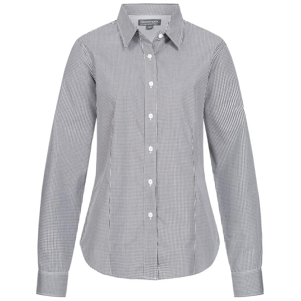 Slazenger Damen Karo Bluse Net für 2,22€ + 3,95€ VSK (Größe XS - XXL) [SportSpar]