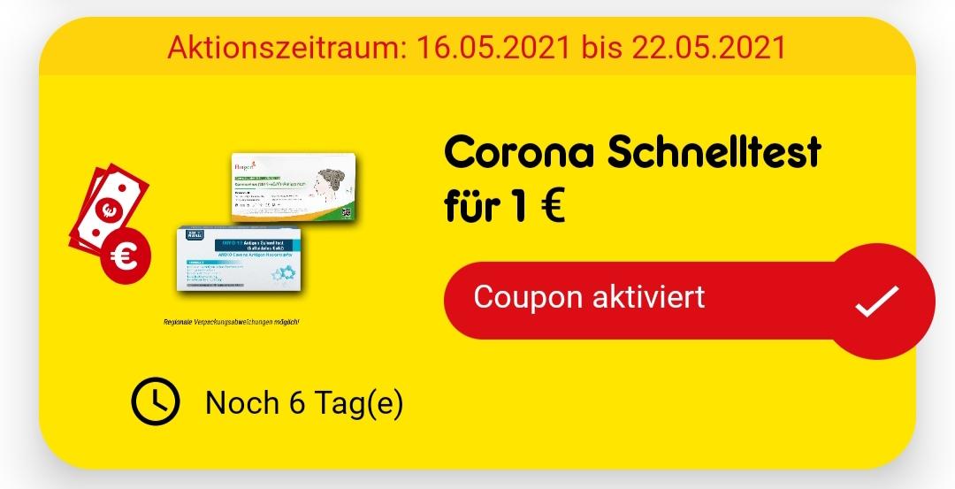 [Netto App] Corona Schnelltest für 1 €
