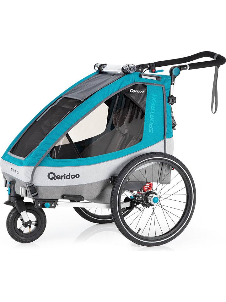 Qeridoo Sportrex1 / Fahrradanhänger für starke 309,99 € bei Limango.de