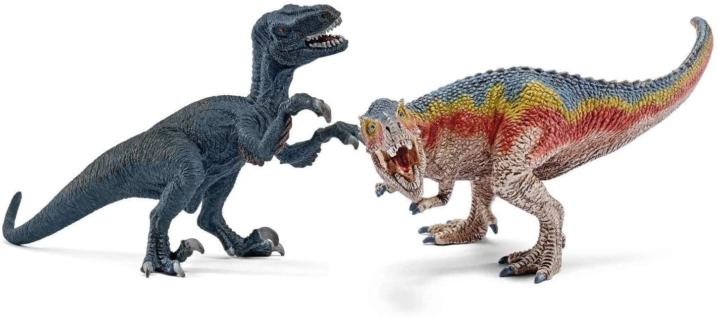 Schleich 42216 T-Rex und Velociraptor, Reiten auf Lipizzaner Mare oder Pferdepflege-Set Andalusier für je 9,99 Euro [Kaufland]