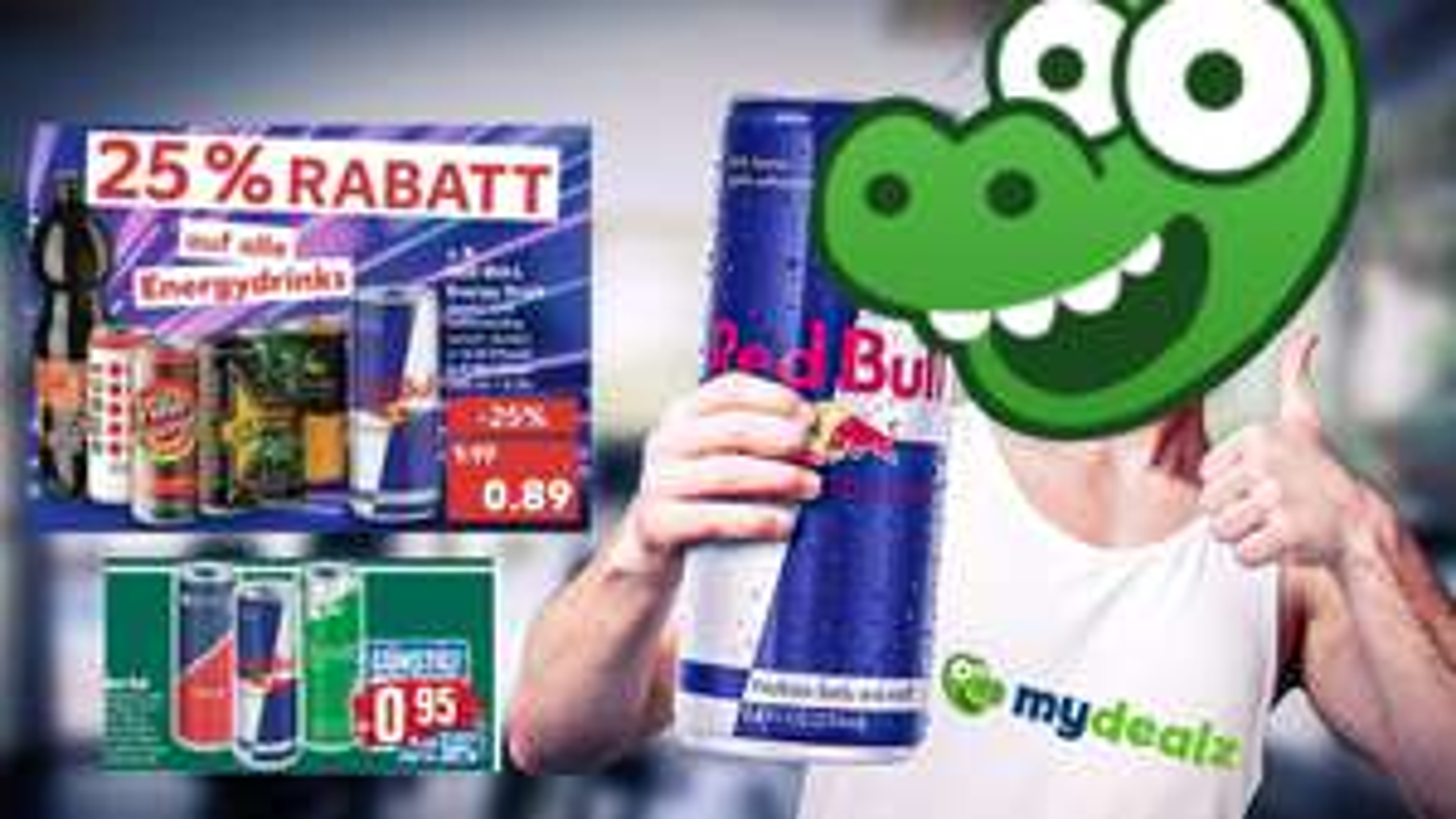 Energy Drink Angebote vom 17.05 - 22.05 z.B Red Bull Energy Drink für 0.89€