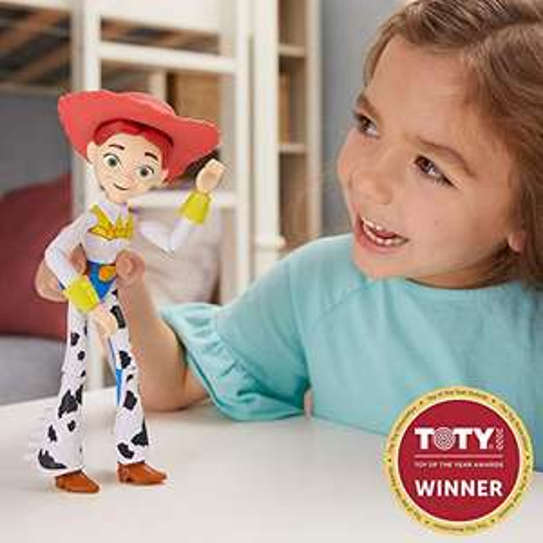 [Prime] Mattel GGX36 - Toy Story 4 Jessie, 17 cm Spielzeug Actionfigur ab 3 Jahren