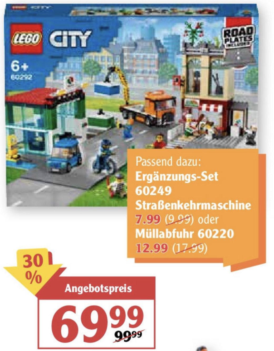 [Lokal GLOBUS Koblenz / Lahnstein] LEGO City 60292 Stadtzentrum