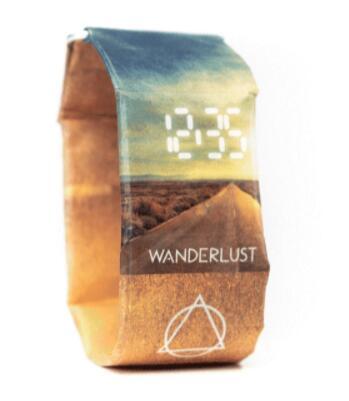 Geschenkt: Nachhaltige Unisex LED Uhr ab 34,99€ Einkaufswert, z.B. mit RFID Portemonnaie bei Paprcuts