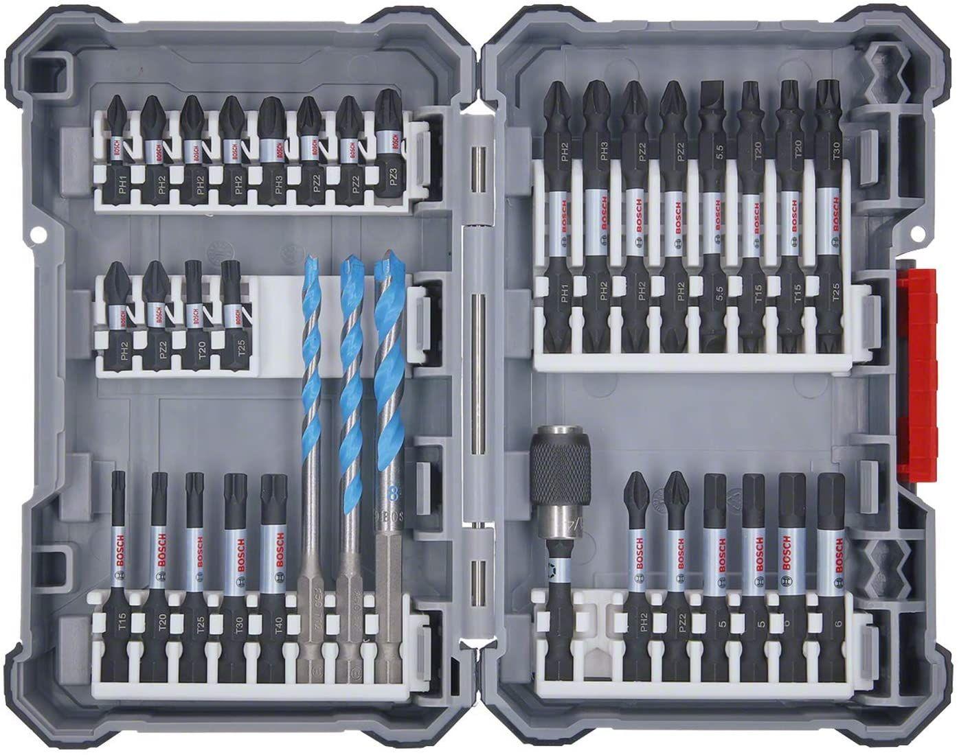 (Prime) Bosch Professional 35-tlgs. Bohrer Bit Set