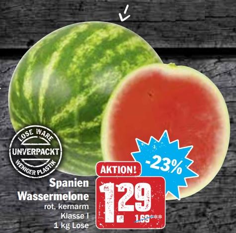 [HIT-Deutschlandweit] Wassermelone 1,29€/kg