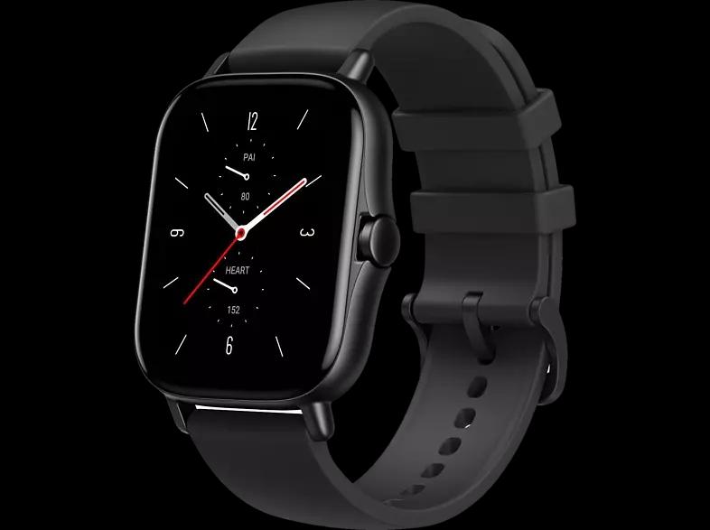 "Amazfit GTS 2 Smartwatch bei Saturn /MM (1.65"" OLED-Display, Bluetooth 5.0, GPS, 246mAh, Alexa) in schwarz, Gold oder grau/silber"
