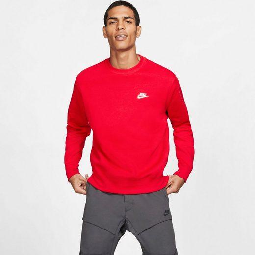 Nike Sportswear Sweatshirt »M NSW CLUB CREW BB« (Gr. S-XL)