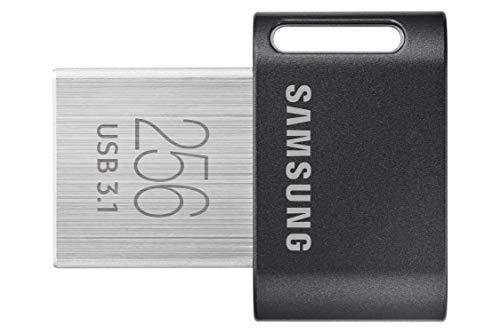 SAMSUNG FIT PLUS oder BAR PLUS (Champagne Silver/Titan Gray) je 256 GB USB 3.1 Stick (Amazon Prime)