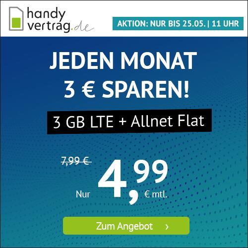 Drillisch KW20 Angebote: 3GB Handyvertrag.de 4,99€ I 9GB sim.de 8,99€ I 10GB PremiumSIM 9,99€ I 20GB winSIM 16,99€ [Telefonica-Netz]