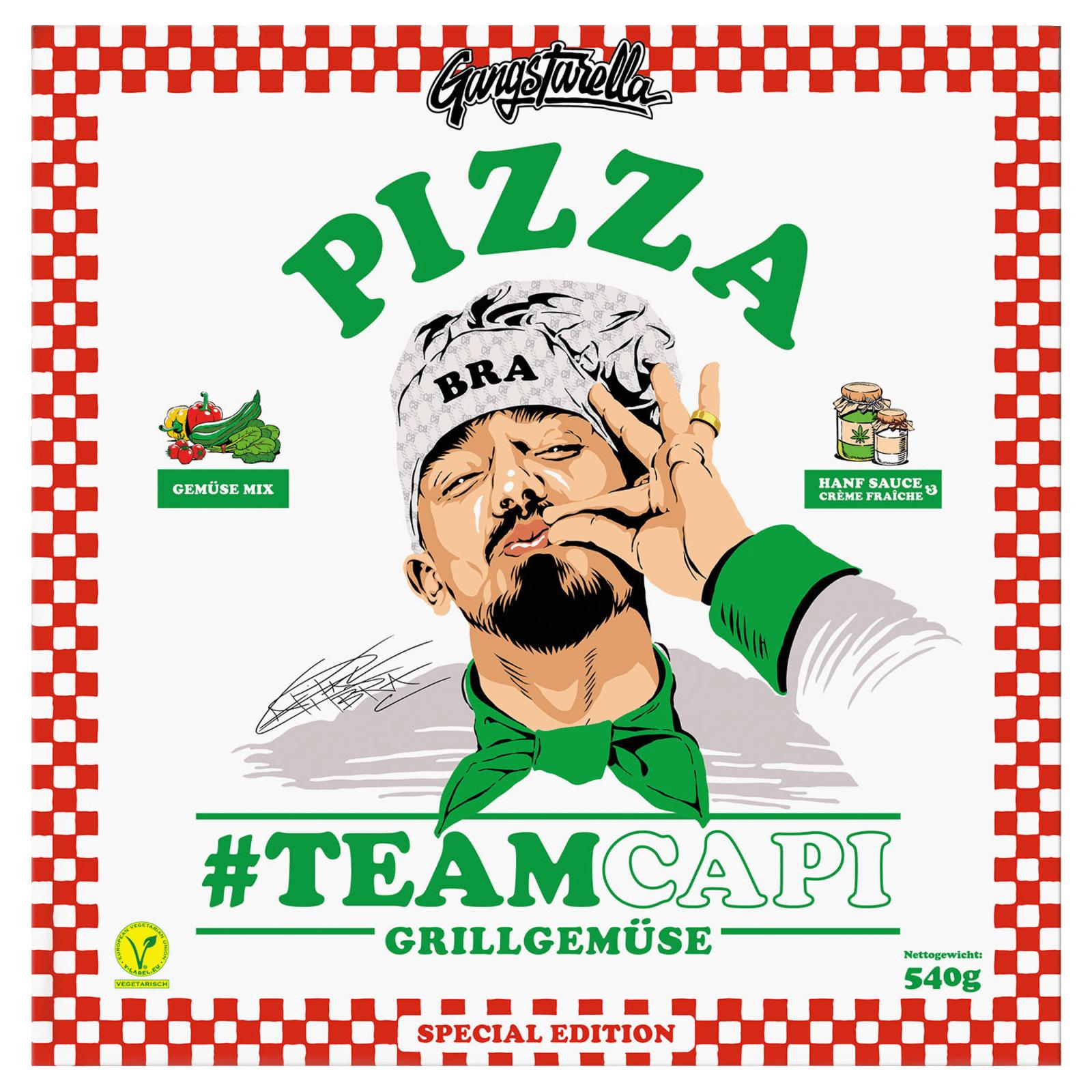 [Lokal Mönchengladbach] Gangstarella Pizza Gemüse für 1,49€ von Capital Bra