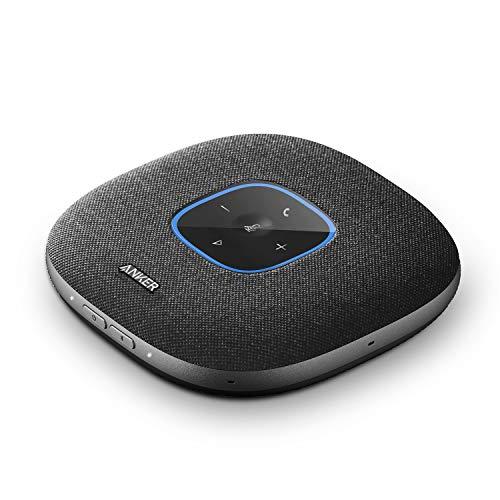 Anker PowerConf S3 Bluetooth Konferenzlautsprecher, 6 integrierte Mikrofone, verbesserter Tonaufnahme, 24 Std Gesprächszeit