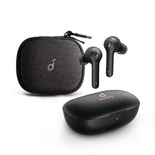 Anker Soundcore Life P2 Bluetooth Kopfhörer mit Reiseetui, CVC 8.0 Geräuschisolierung, kristallklares Klangprofil, 40H Akku