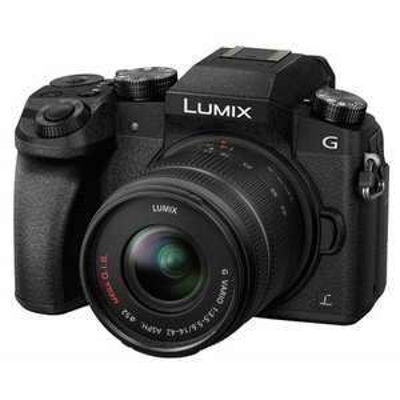 Panasonic Lumix DMC-G70 + AF 14-42mm OIS G-Vario schwarz