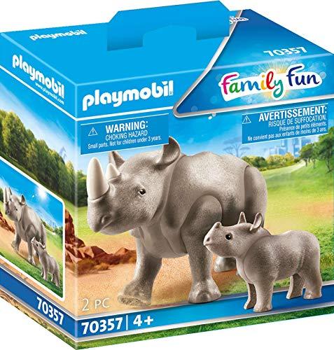 [PRIME] PLAYMOBIL 70357 Nashorn mit Baby