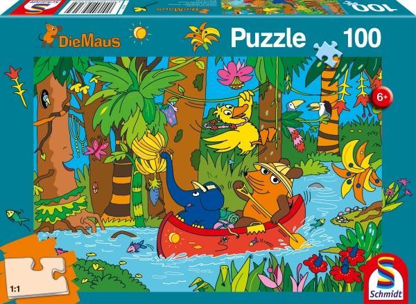 [thalia KULTCLUB/amazon PRIME] Kinderpuzzle 100 Teile: Maus im Dschungel 4,04€   Maus im Spielpark 4,49€ (Die Sendung mit der Maus, ab 6 J.)