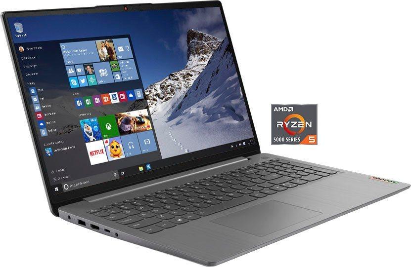 "Lenovo IdeaPad 3 15ALC6 Notebook 15,6"" IPS FHD, Ryzen 5 5500U, 8+512GB, 1.65Kg Win 10"