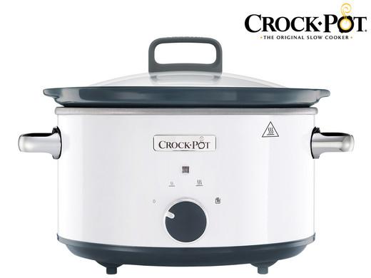 Crock-Pot Schongarer Slow-Cooker CR030 (3.5 Liter, Inklusive 3-teiligem Löffelset, Mit Warmhaltefunktion) [iBOOD]