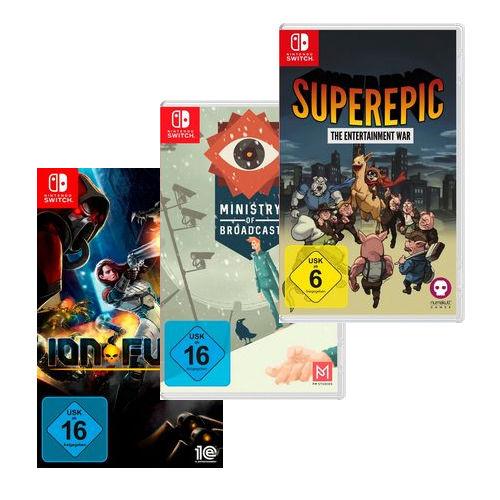 Sammeldeal: Nischentitel, Retro- und Indie-Games für Nintendo Switch [Otto-Flat]