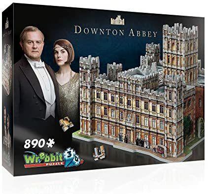 Wrebbit 3D Puzzle, Downtown Abbey - Highclere Castle, 890 Teile, ab 14 Jahren [Amazon Prime]