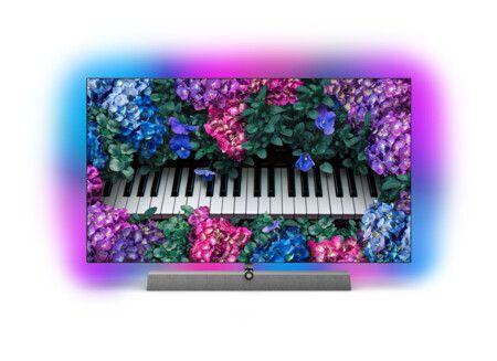 PHILIPS 65OLED935 LED TV (65 Zoll (164 cm), 4K UHD, Smart TV) Ambilight Sound von Bowers & Wilkins