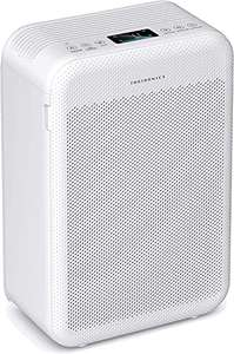 TaoTronics TT-AP003 Luftreiniger (35W, bis 384 m³/h CADR, H13 HEPA-Filter, für Räume bis 30m², 3 Stufen, 32dB-Schlafmodus)