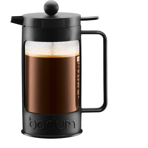 """Bodum Kaffeebereiter """"Bean"""", 8 Tassen, 1 Liter, erhältlich in Schwarz und Weiß"""