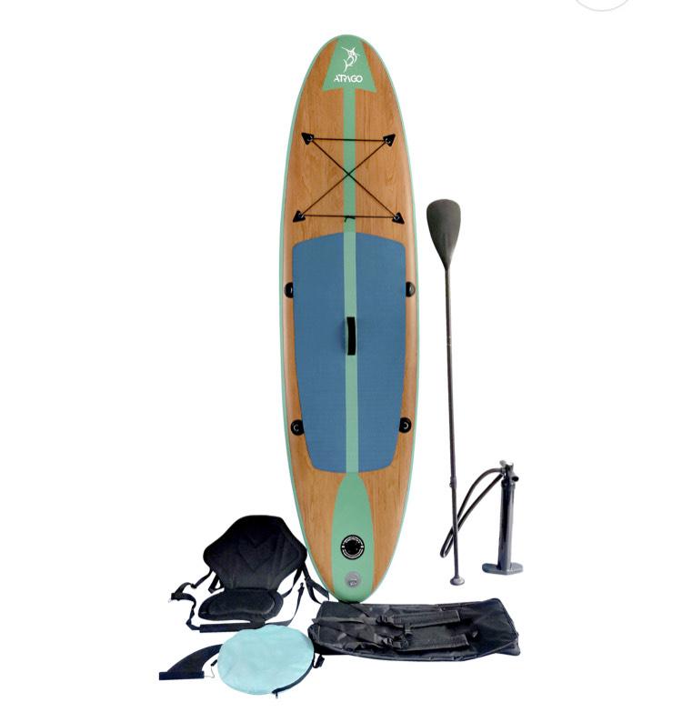 Stand Up Paddle I-SUP Atrigo 4000 in Türkis (290/76/15 cm)