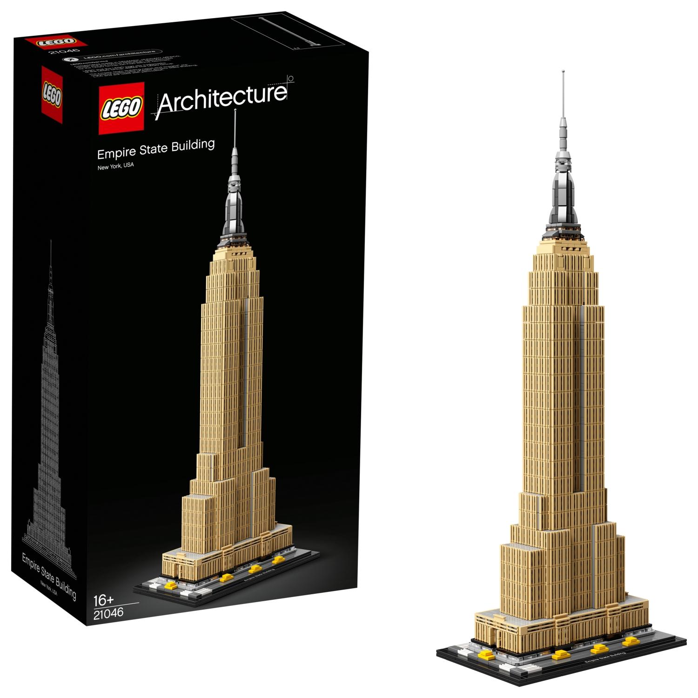 LEGO Architecture - 21046 - Empire State Building aus 1.767 Teilen (Amazon geht mit)