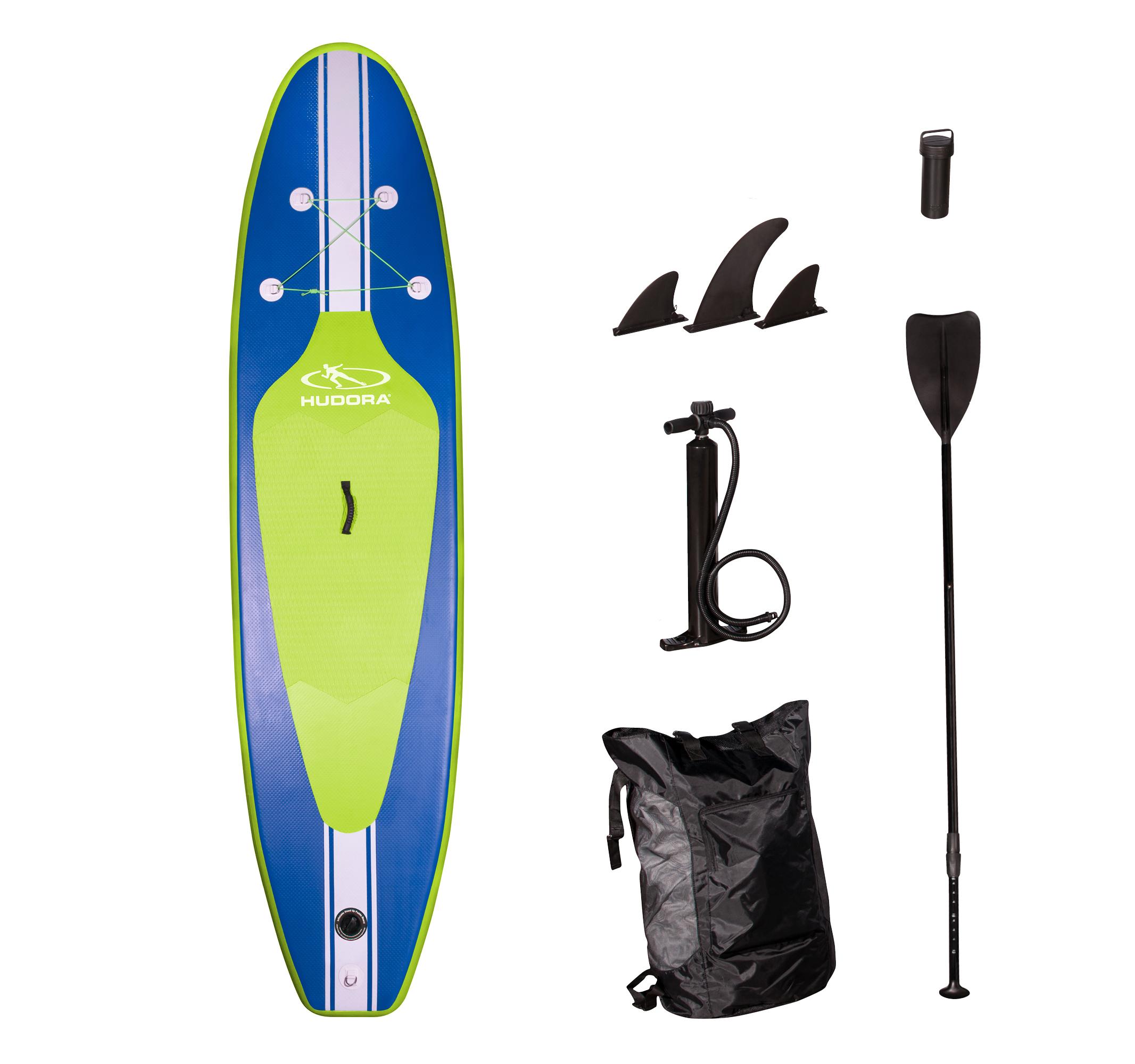 """HUDORA Stand Up Paddle Board """"Glide 320"""", aufblasbar mit 320cm Länge bis 110kg Körpergewicht"""