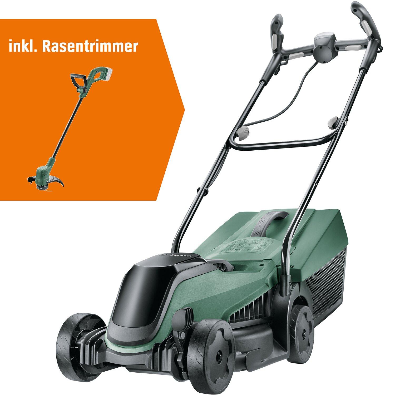Bosch City Mower + EasyGrassCut 18 Rasentrimmer