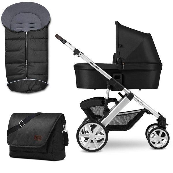 ABC Design Salsa 4 Kombikinderwagen Kinderwagen Fußsack + Wickeltasche (Vorkasse 3% Rabatt)