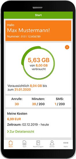 [Klarmobil Kunden] 10 GB Datenvolumen geschenkt