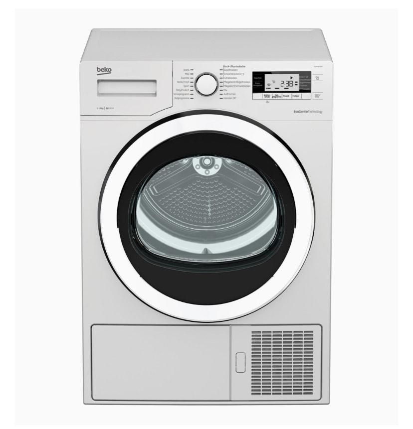 [Amazon] Beko DE8535RX0 A+++ Trockner Wäschetrockner Wärmepumpentrockner 8kg