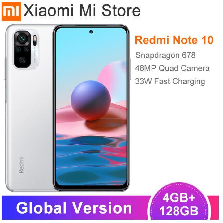 Xiaomi Redmi Note 10 128 GB (oder 64 GB)