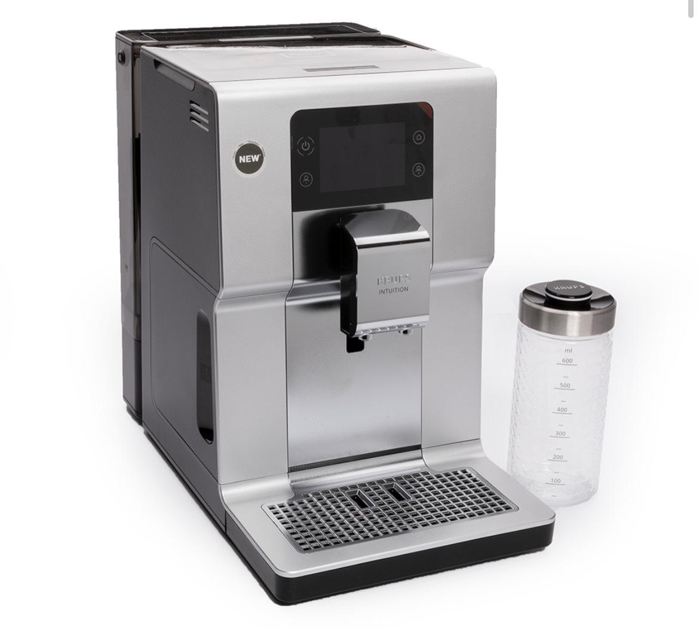 Krups – Automatic Espresso Intuition Preference+ EA875E – Silver