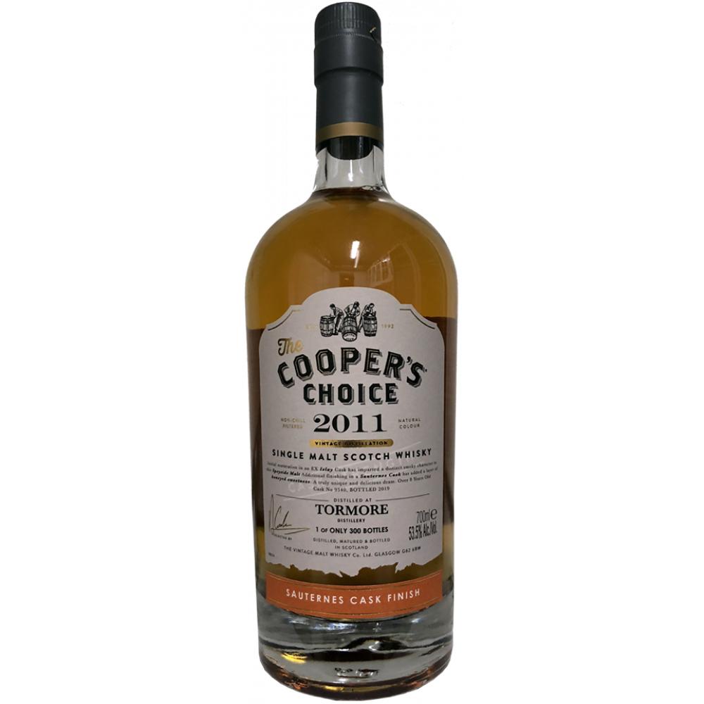 The Cooper's Choice Tormore 8 Jahre Sauternes Finish (53,5% 0,7l) Single Malt Whisky