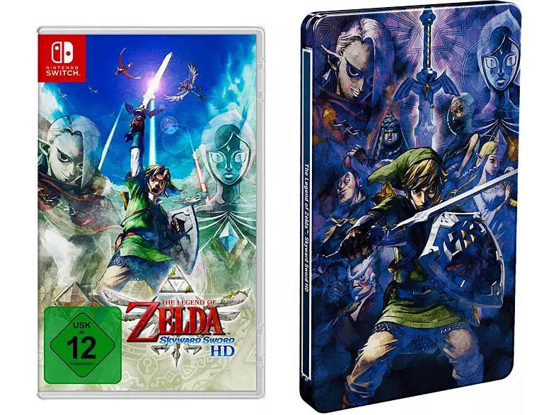 Vorbestellerbonus - The Legend of Zelda: Skyward Sword HD mit Steelbook bei MediaMarkt und Saturn