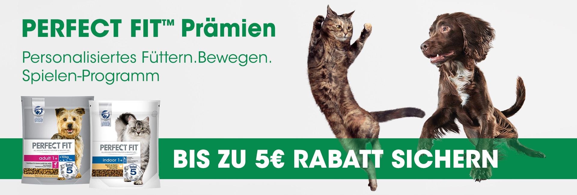 [GzG] 5€ Cashback auf Perfect Fit Hunde- und Katzenfutter   noch über 18.000 Teilnahmen möglich