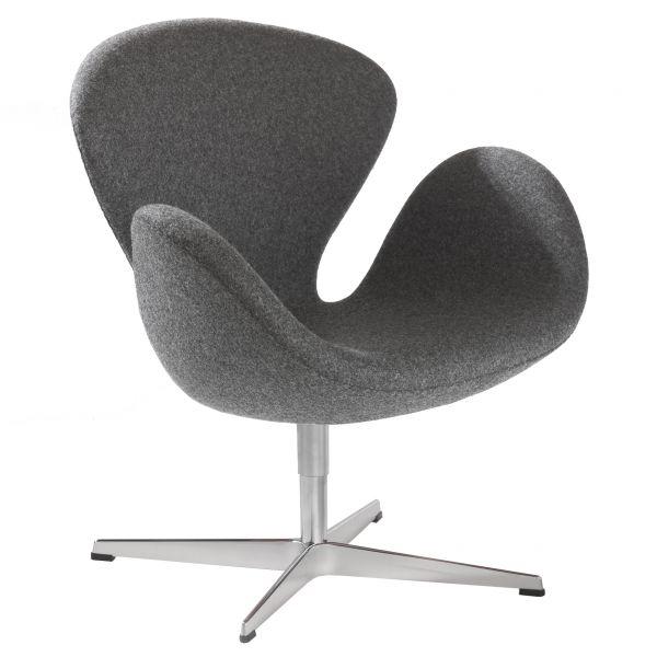"""Sessel """"Der Schwan"""", Designklassiker von Arne Jacobsen (Aussteller)"""