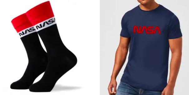 NASA Bundle: T-Shirt und Socken für 10,99€ + Gratis Versand