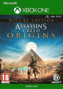 [GOLD] Assassin's Creed Origins - Deluxe Edition (Xbox One & Series X|S) @ Microsoft Store Brazil