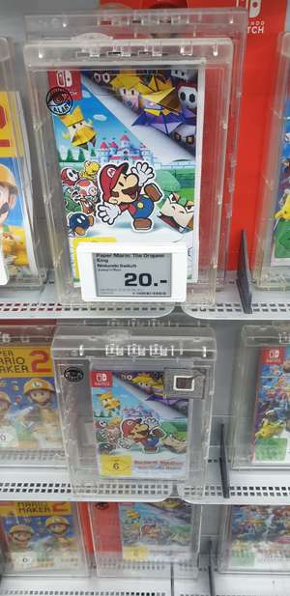 (lokal) Paper Mario Origami King, Nintendo switch, Lokal Bremen Saturn Innenstadt